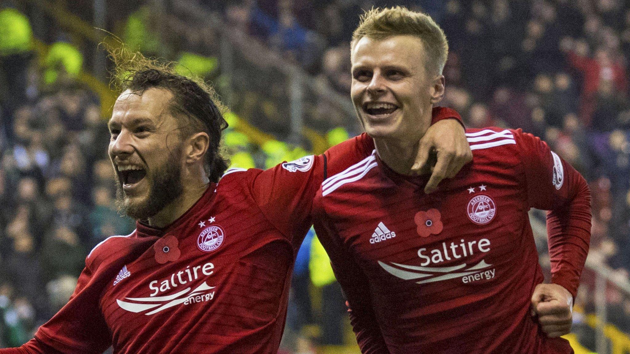 Aberdeen 1-0 Hibernian: Gary Mackay-Steven goal decisive at Pittodrie