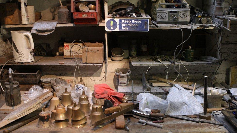 Bell workshop