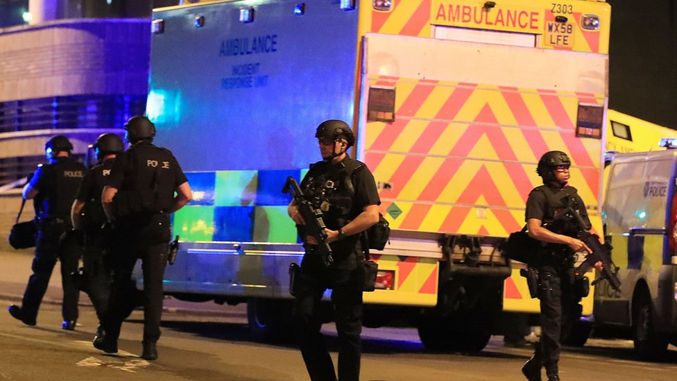 Manchester Arena attack: Police officers 'badly affected'