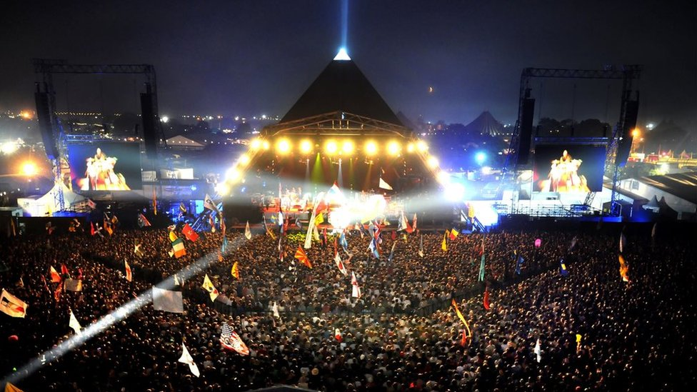 Glastonbury's Pyramid Stage
