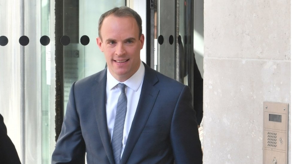 Dominic Raab tells 'jittery' Tories: Hold your nerve