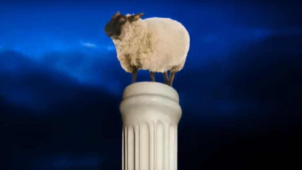 """Imagen de la campaña """"Demon Sheep"""" en Youtube."""