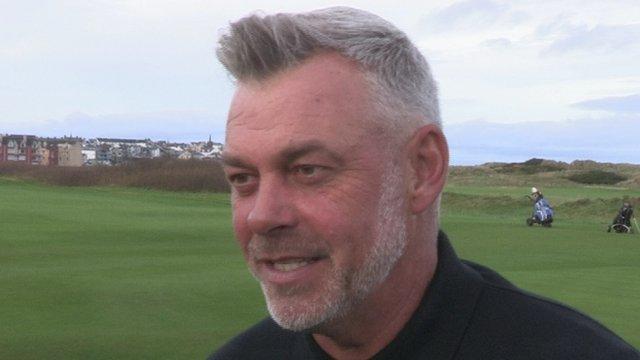 European Ryder Cup captain Darren Clarke