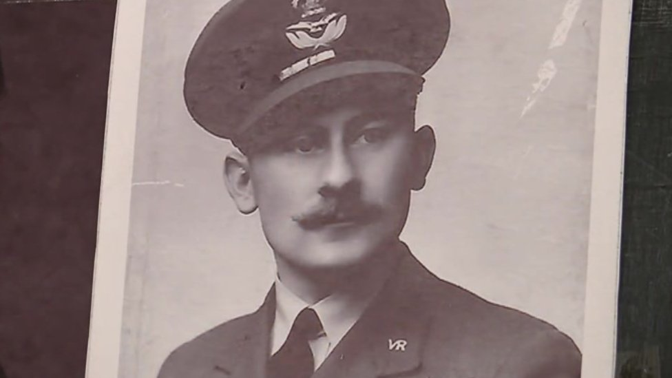 Wartime picture of Jack Lyon