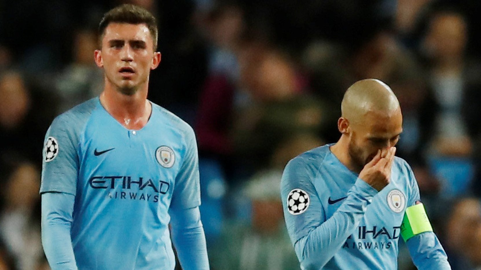 Man City suffer shock opening Champions League loss at home to Lyon