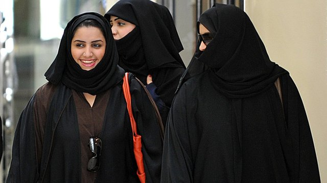 Saudi women in Riyadh (file photo)