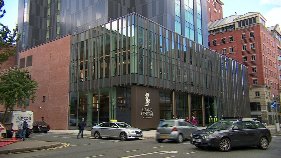 Belfast hotel occupancy rates 'falter'
