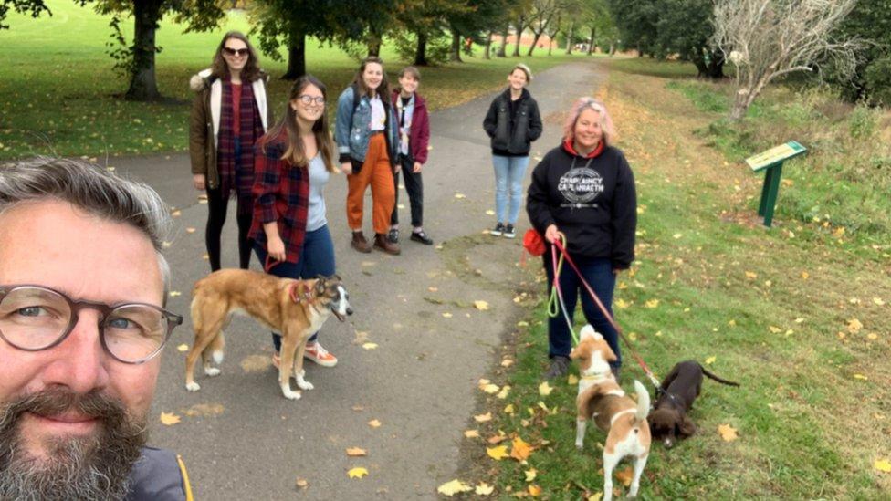 Chaplaincy dog walk