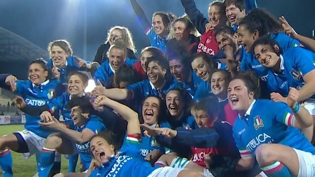 Women's Six Nations: Italy claim first Six Nations victory over Ireland
