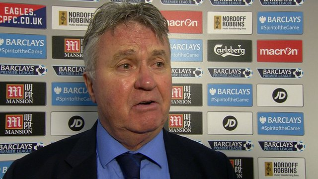 Chelsea interim boss Gus Hiddink