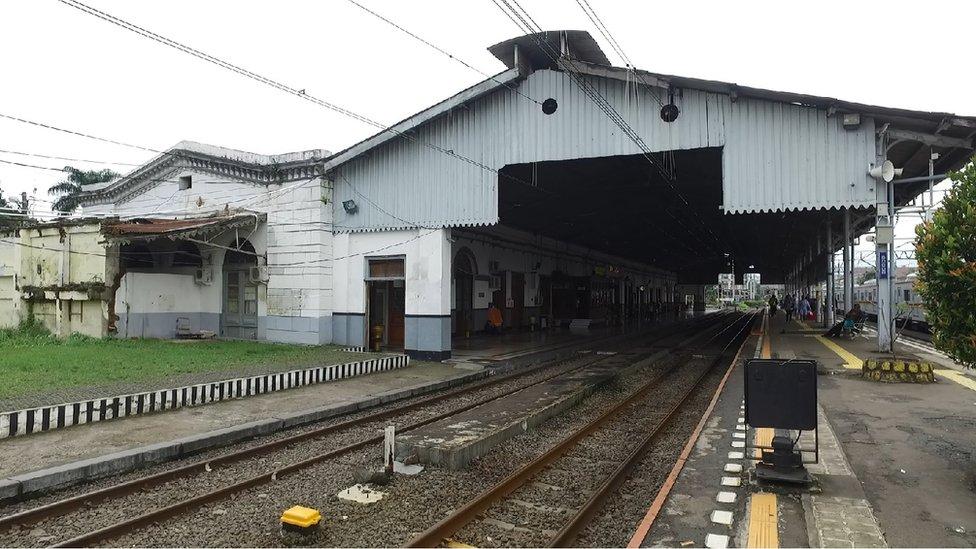stasiun bogor, kereta api