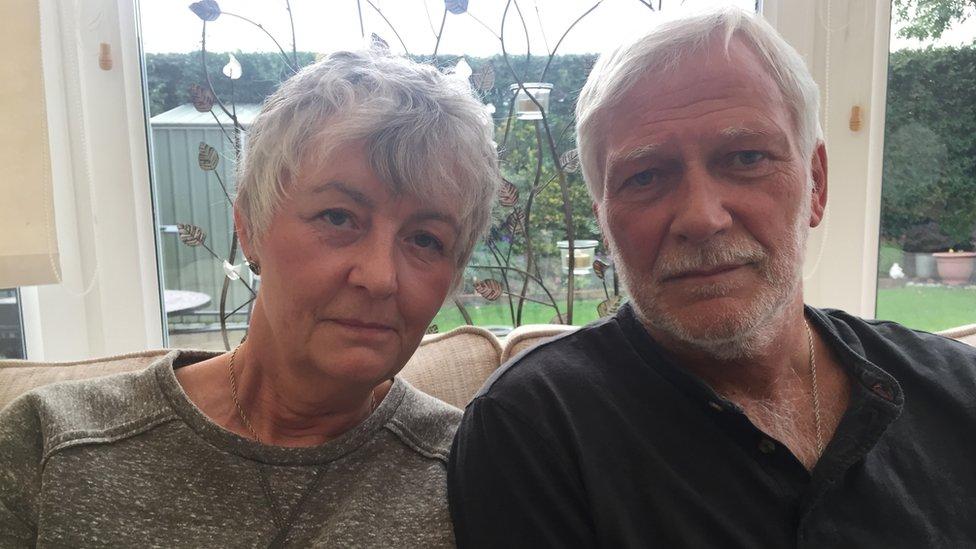 Lesley and Neal Davison