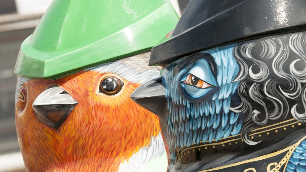 Robins on trail to celebrate Robin Hood in final show