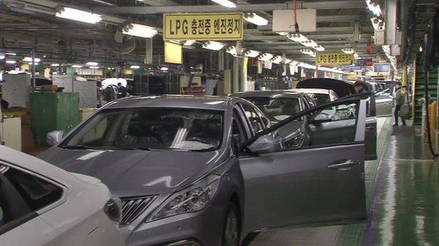Hyundai production line