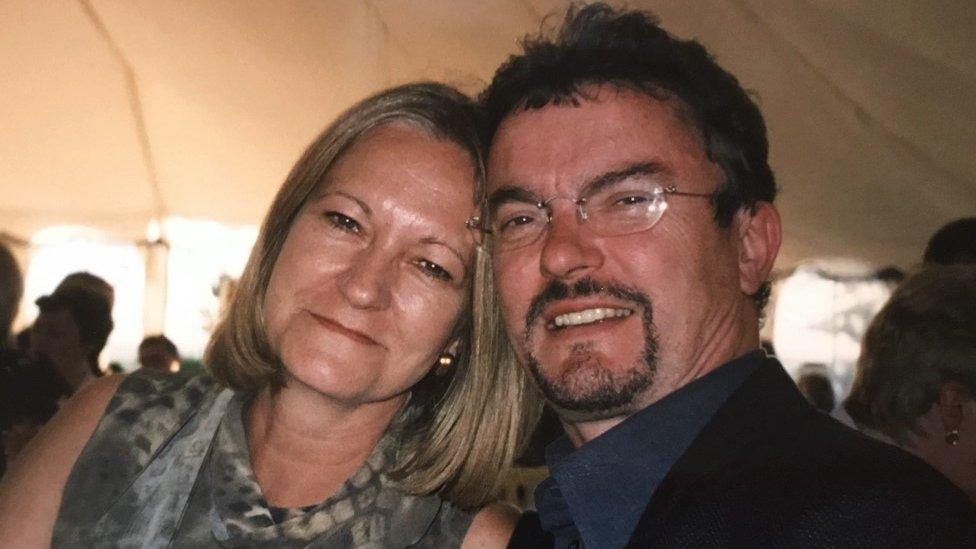 Sally y Richard Challen