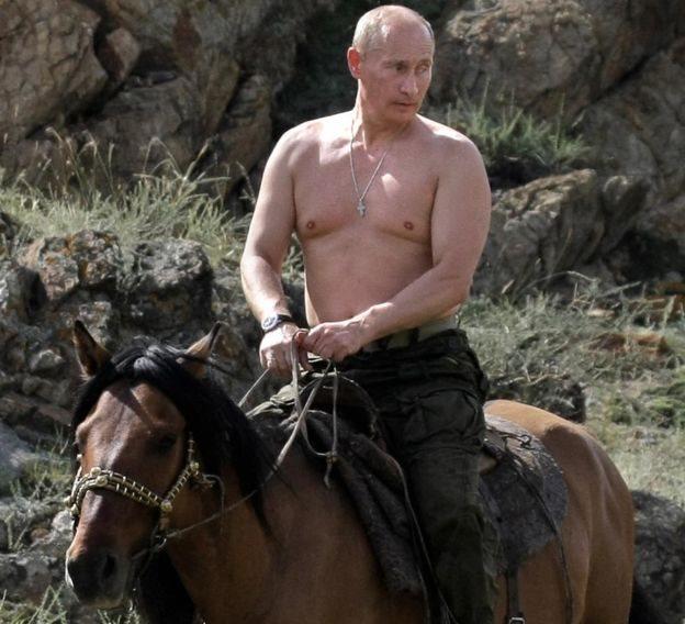 普京騎馬照