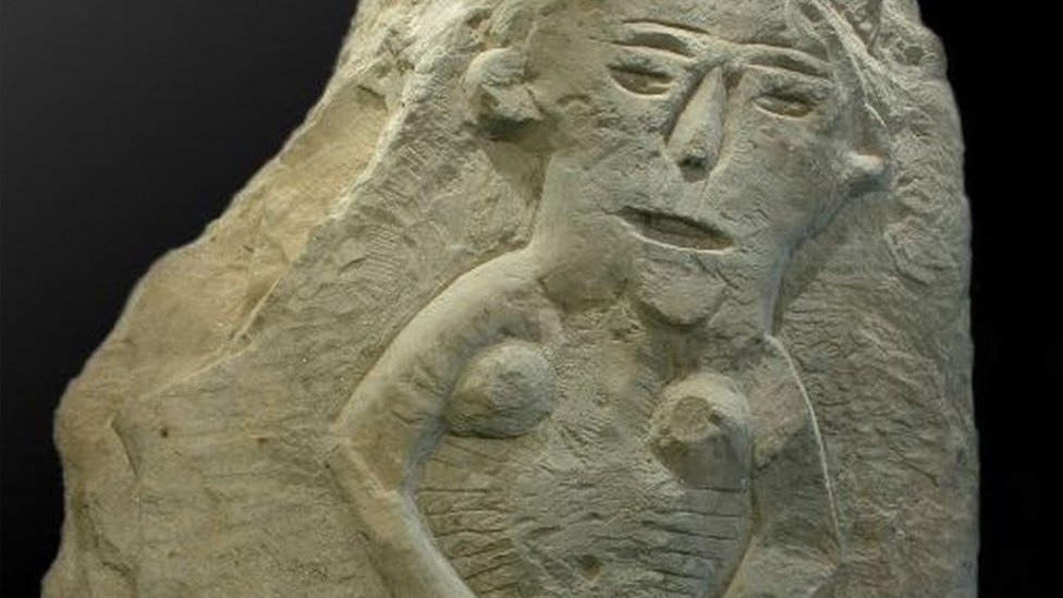 Sheela-na-gigs: The naked women adorning Britain's churches