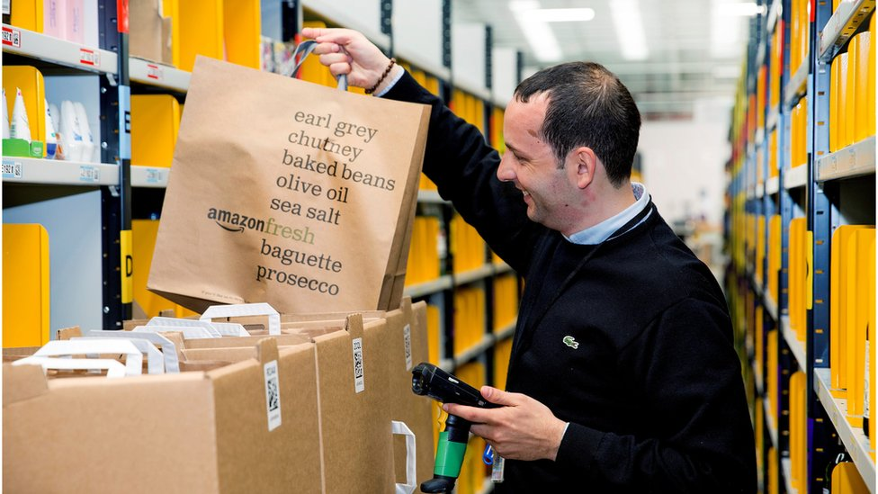 AmazonFresh warehouse