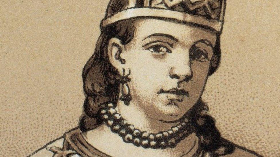 Ilustración de La Malinche