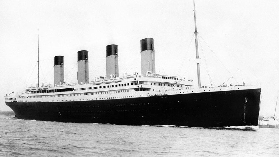 Titanic, muestran fotos del buque transatlántico tras 14 años