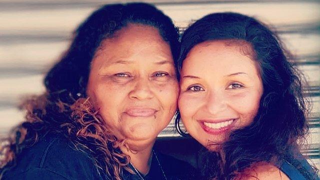 Lorena y su hija Mariela
