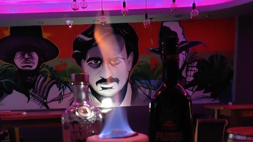 Interior de Escobar