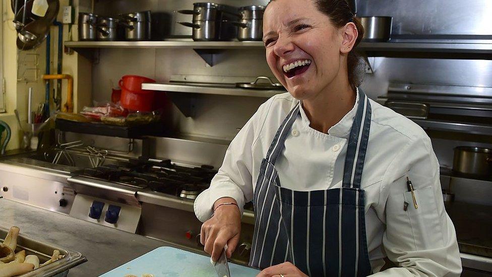 Elena Reygadas en Rosetta.