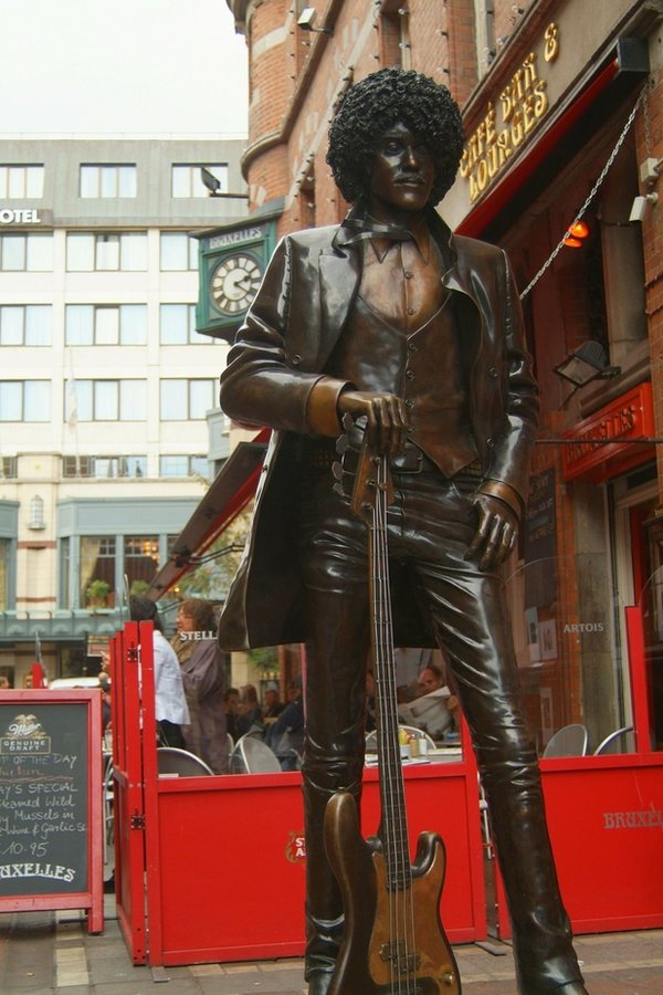 Statue of Phil Lynott