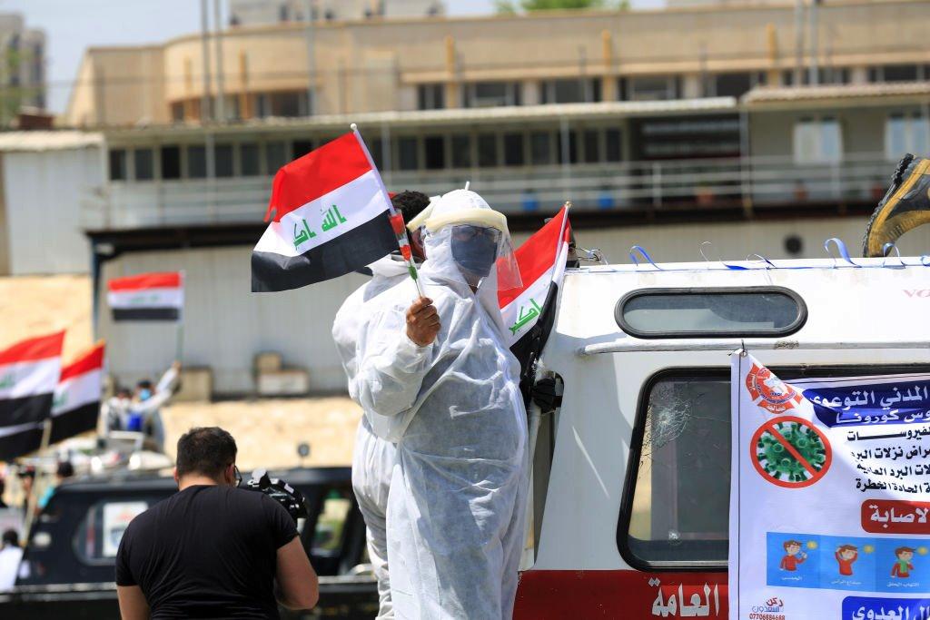 تجاوز عدد الوفيات بفيروس كورونا في العراق 13 ألفا