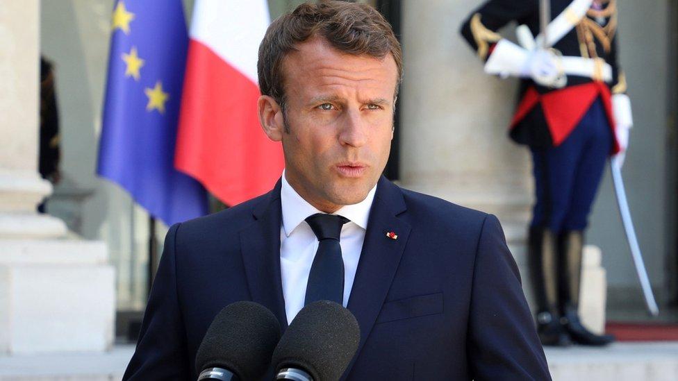الرئيس الفرنسي لم يدل بتفاصيل مقترحاته