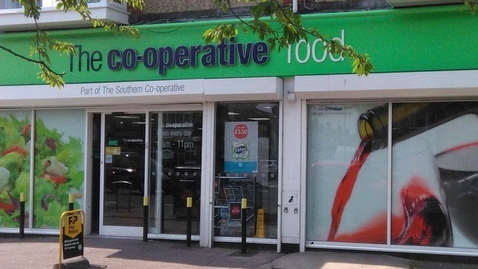 Co-op shop