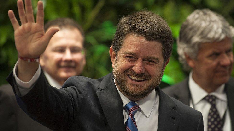 Claudio Orrego, candidato a gobernador por la región metropolitana