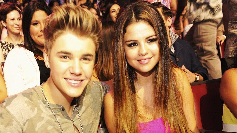 Džastin Biber i Selena Gomez 2012. godine