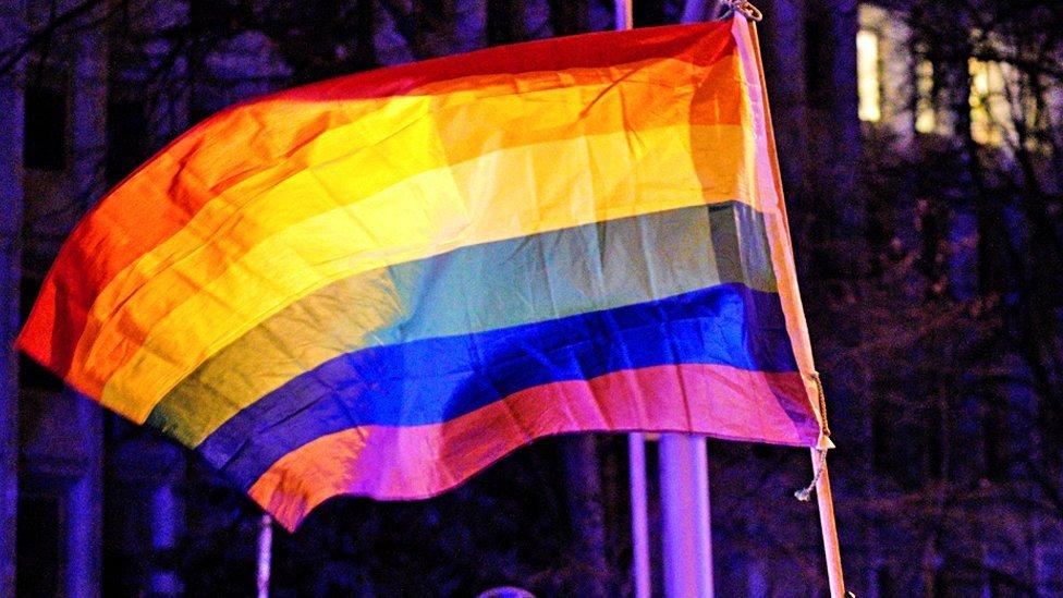 Zastava duginih boja - simbol LGBT pokreta