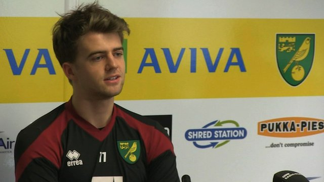 Norwich loan signing Patrick Bamford