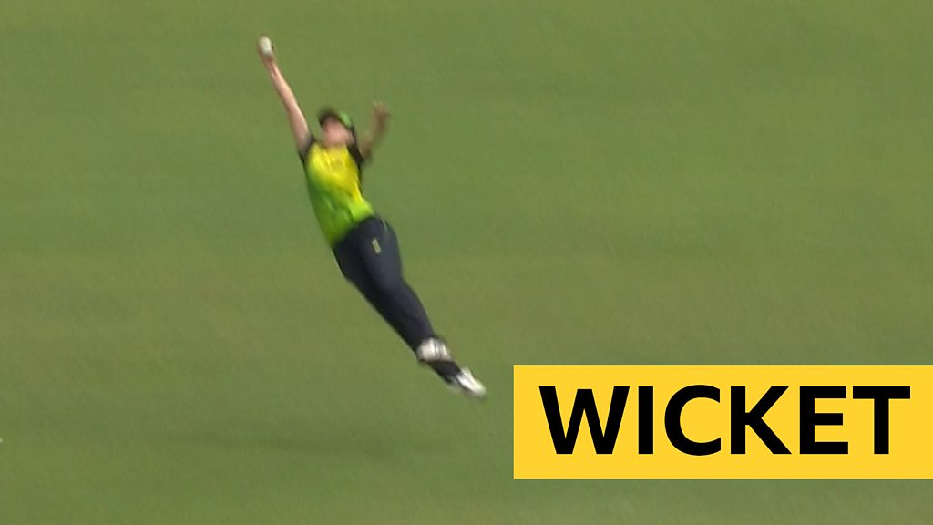 "Women's World Twenty20: Australia's Tayla Vlaeminck takes a ""staggering"" catch v India"