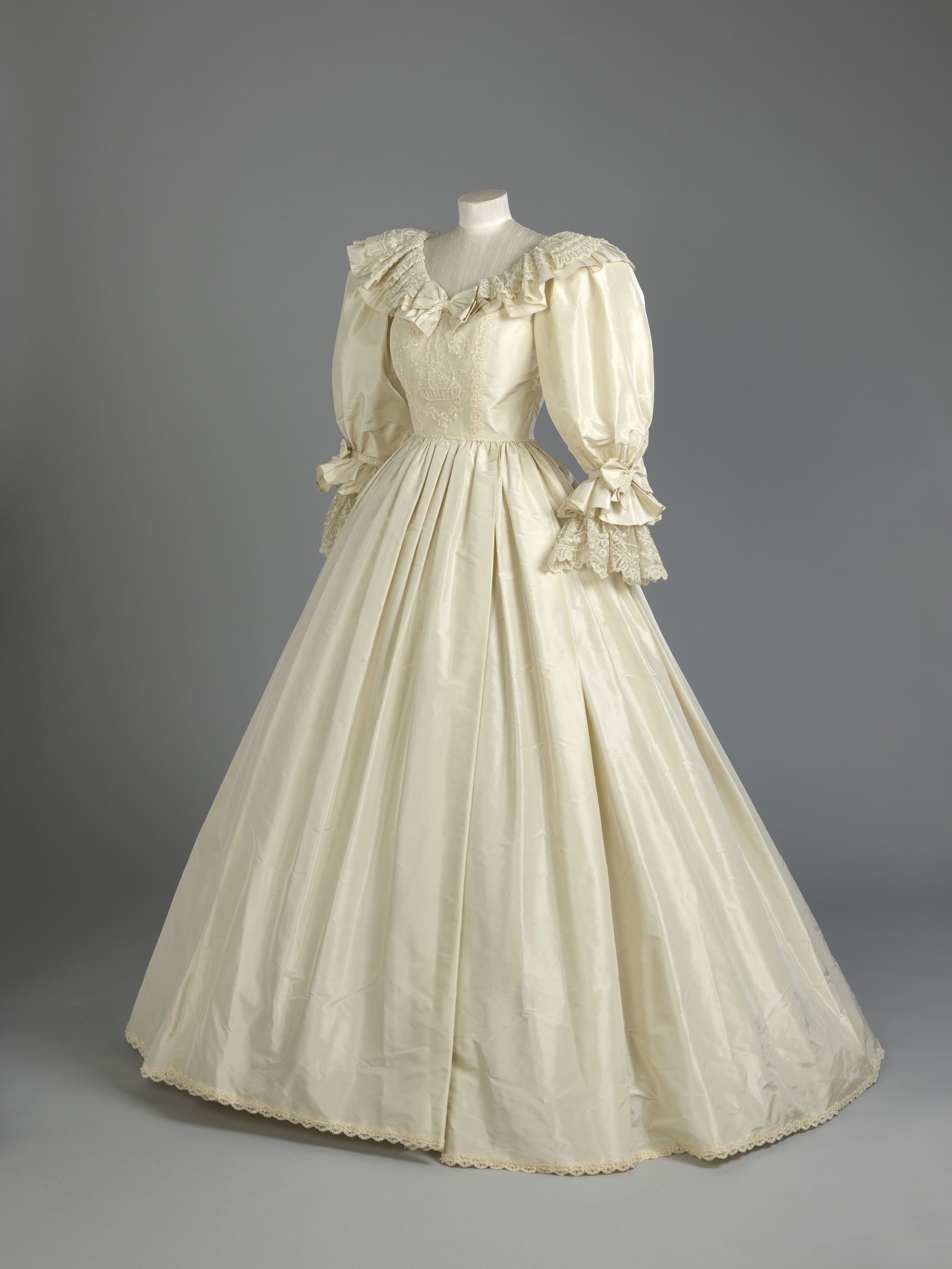 Full length photograph of the dress
