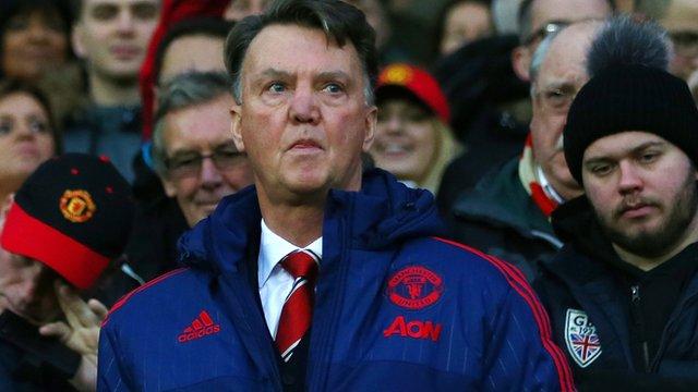 Manchester United's Louis van Gaal
