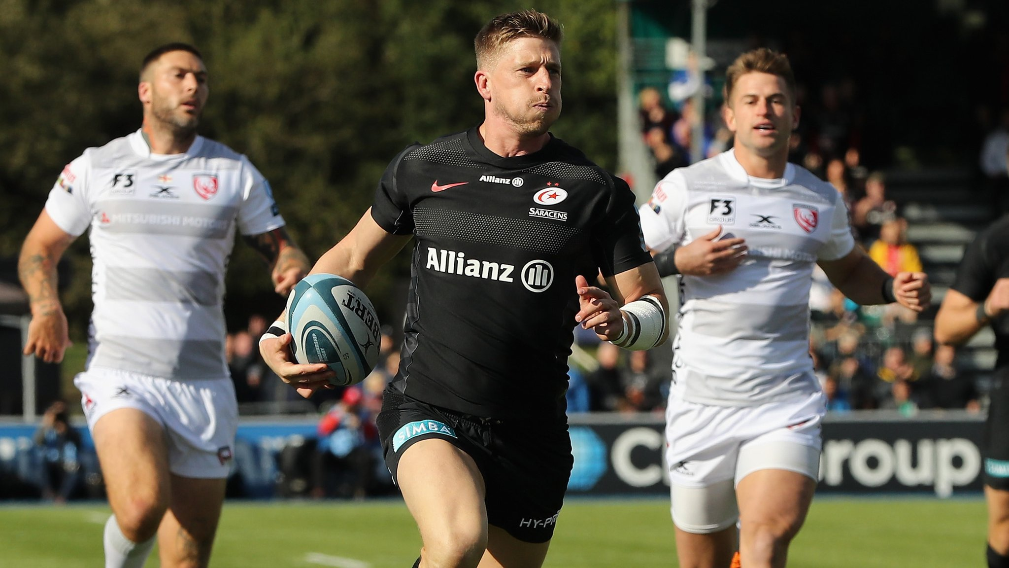 Champions Saracens maintain 100% winning start
