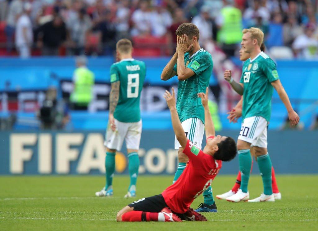 Alemania perdió contra Corea del Sur y quedó eliminado en una de las mayores sorpresas de los mundiales.