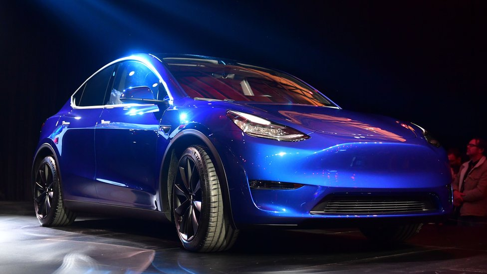 Musk adds new Model Y to electric car line-up