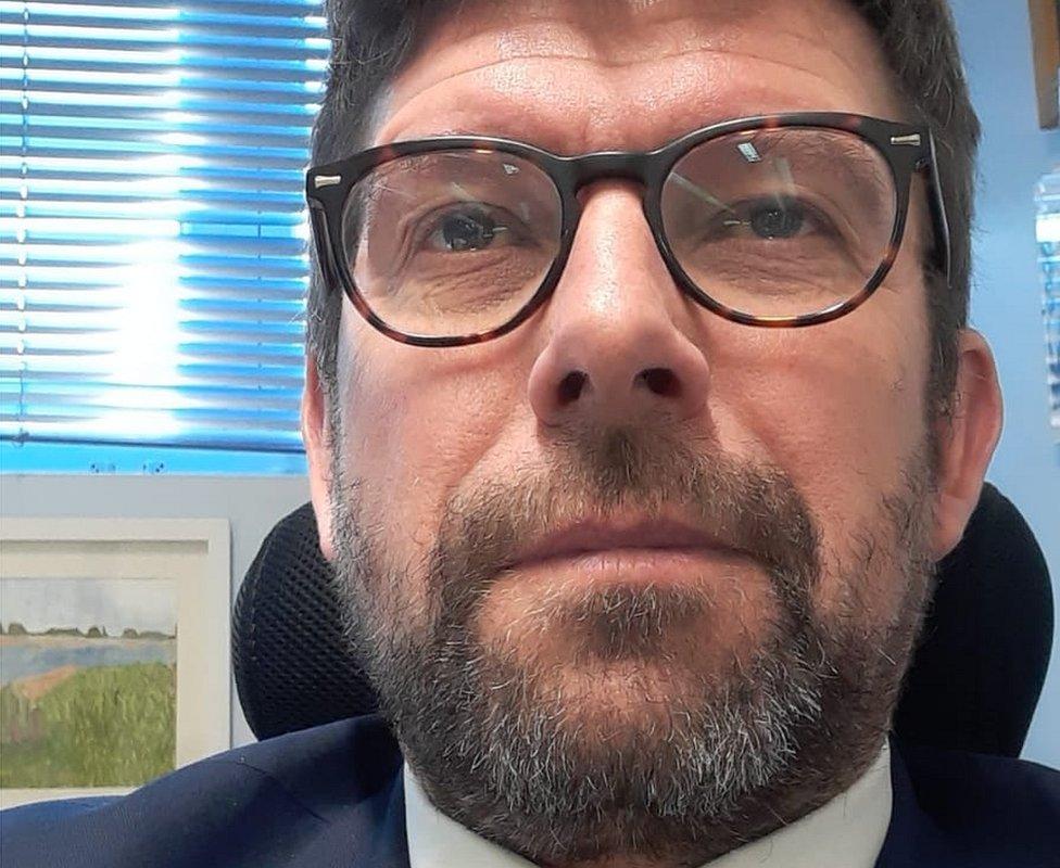 Alan Garnett, head of North School and Primary in Colchester
