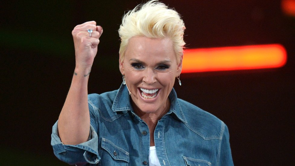 Actress Brigitte Nielsen gives birth to fifth child aged 54
