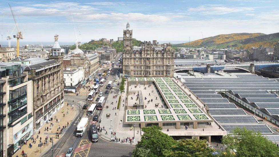 Edinburgh's Waverley Mall revamp plans unveiled