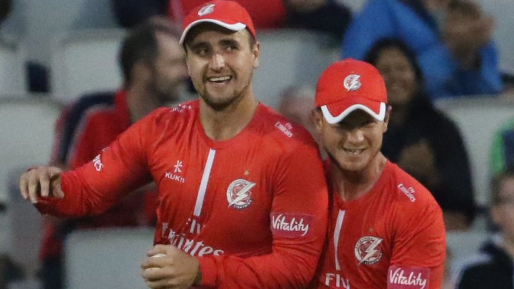 Lancashire win Roses match by one run - T20 Blast round-up
