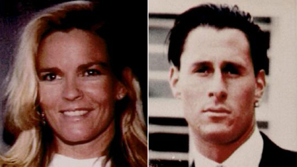 Nicole Brown Simpson and friend Ron Goldman