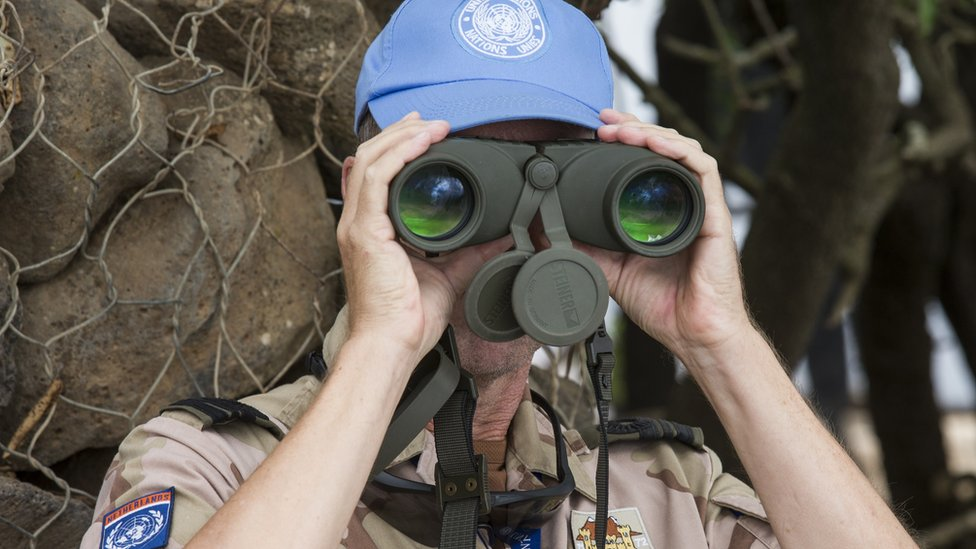 BM gözlem gücü askeri