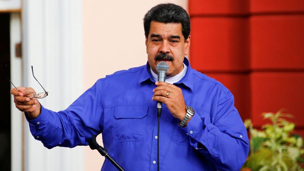 Presiden Venezuela Maduro
