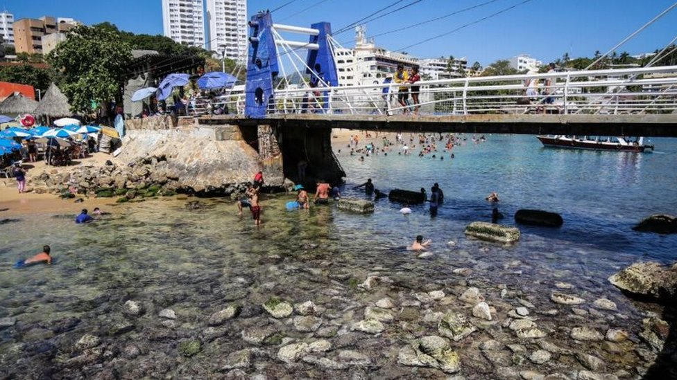Bajamar en Progreso, Yucatán