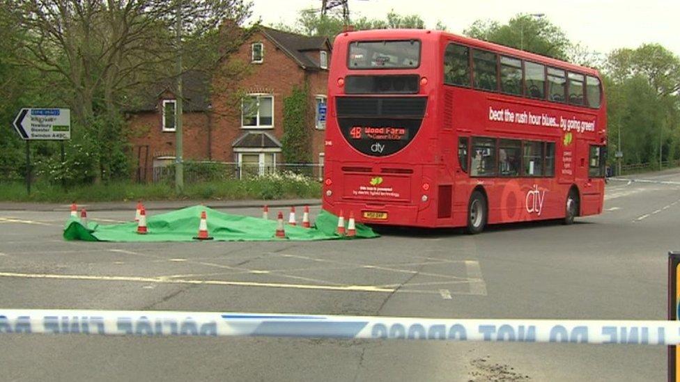 Botley Road fatal bus crash